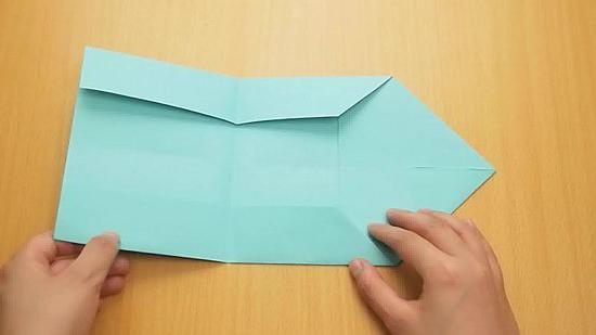 как сделать конверт из листа а4 без клея