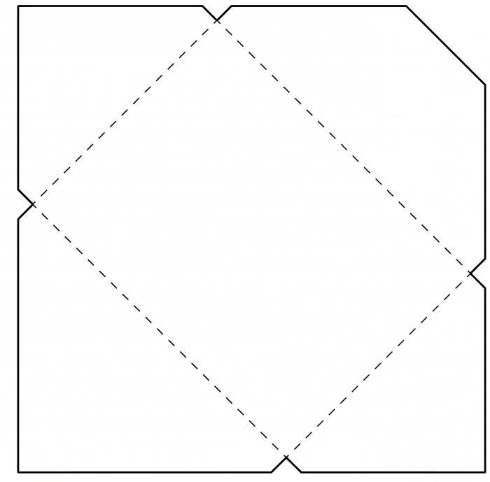Как сделать конверт для письма своими руками