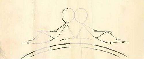 нарисовать человека в движении карандашом