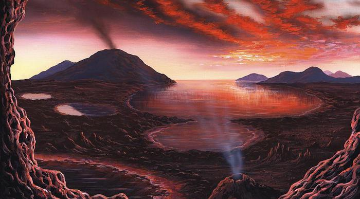 Происхождение Земли картинки