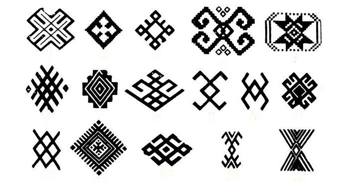 башкирские орнаменты и узоры картинки