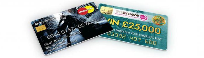 международные банковские карты