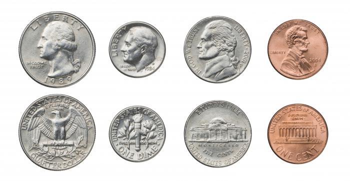 Номиналы монет сша продать монету 1836 года