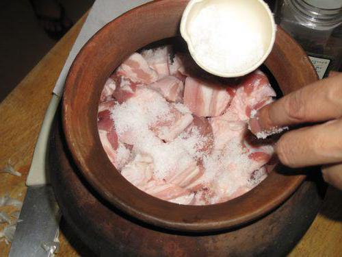 Засолка сала сухим способом с чесноком рецепт пошаговый