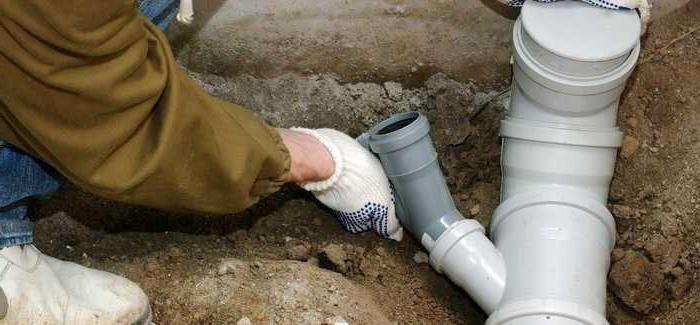 глубина прокладки канализации в частном доме