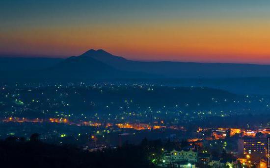 горы пятигорска названия и фото