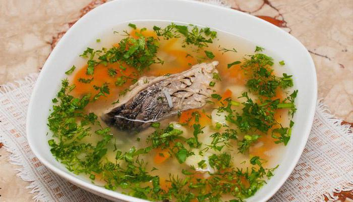 рецепт суп с рыбой и пшеном рецепт