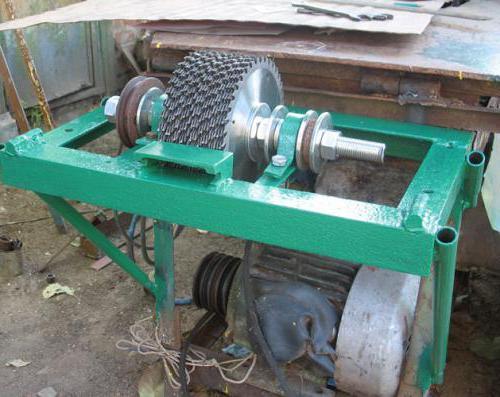Дробилка для дерева своими руками изготовить