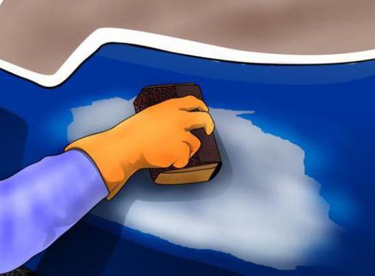 удаление ржавчины с кузова автомобиля ортофосфорной кислотой