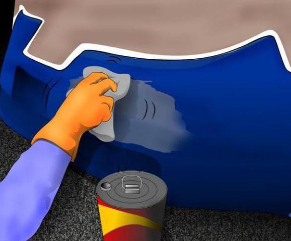 как удалить ржавчину с кузова автомобиля народные методы