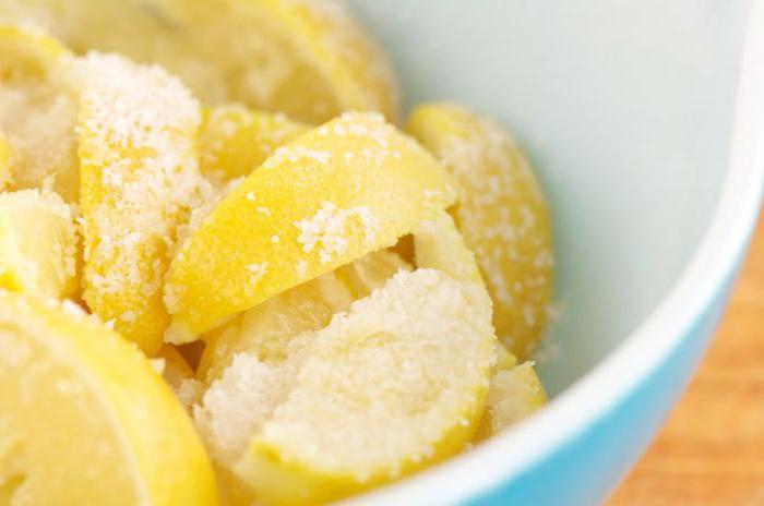 лимон протертый с сахаром