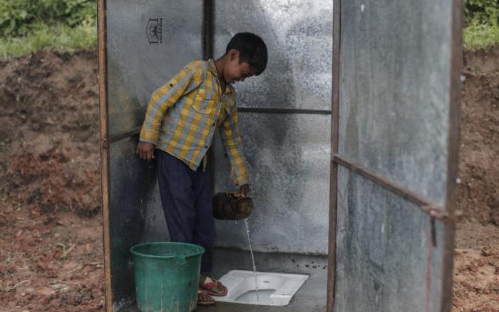 Средство для уличных туалетов и выгребных ям