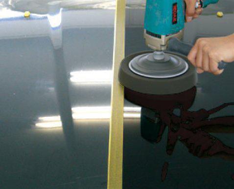 Нанесение жидкого стекла