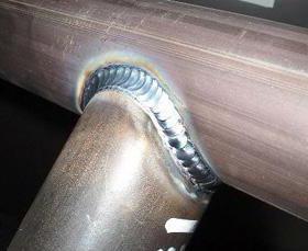 защита заднего бампера из нержавеющей стали