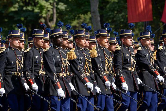 полиция франции форма