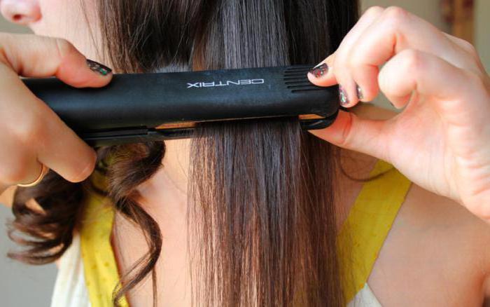 как сделать локоны утюжком на средние волосы