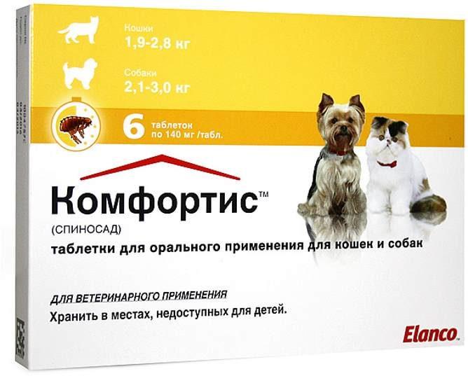 таблетки от блох