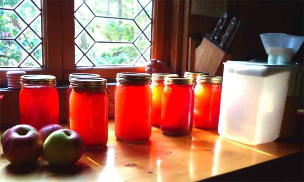 стерилизация яблочного сока