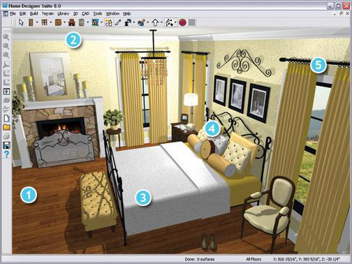 for Building interior design software