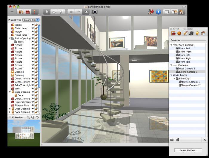 дизайнерская программа для создания интерьера
