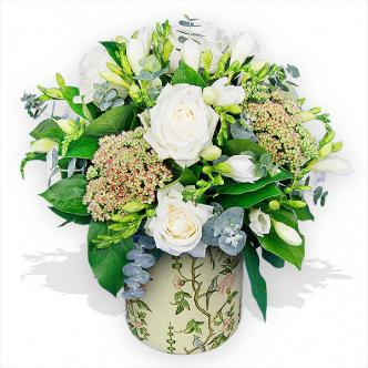 маленькие корзинки с цветами
