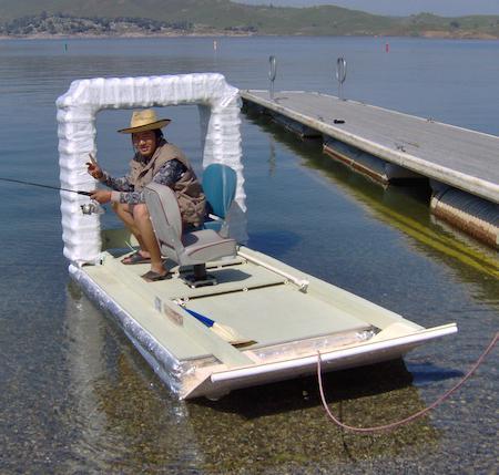 Как сделать пластиковую лодку фото 600
