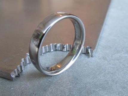 сделать кольцо из монеты