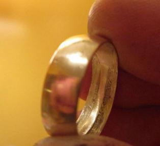 как с монеты сделать кольцо