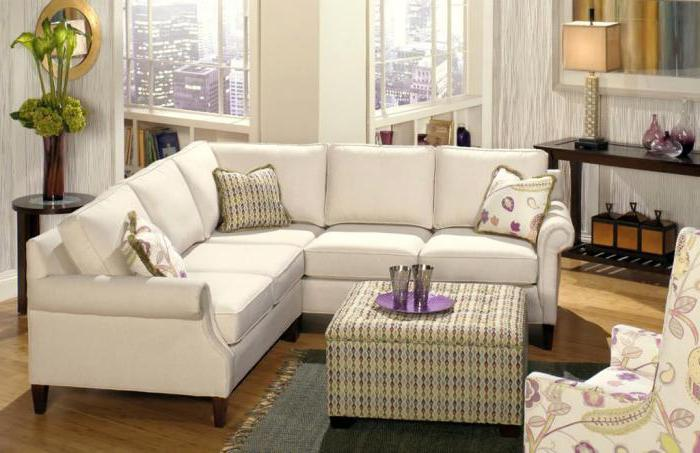 диван с оттоманкой фото