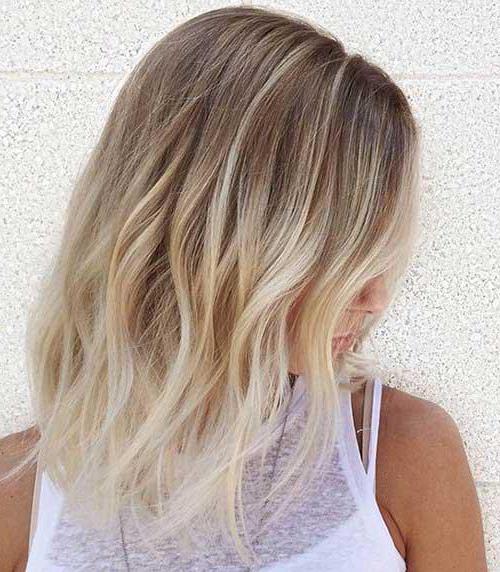 амбре блонд фото