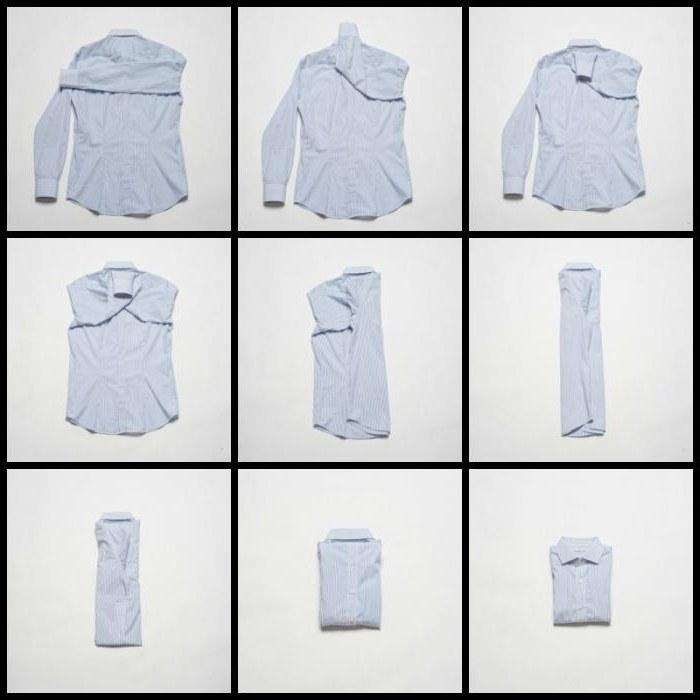 Как правильно сложить одежду в чемодане