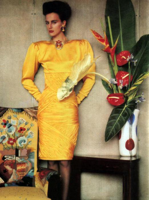 платья 80 х годов в ссср