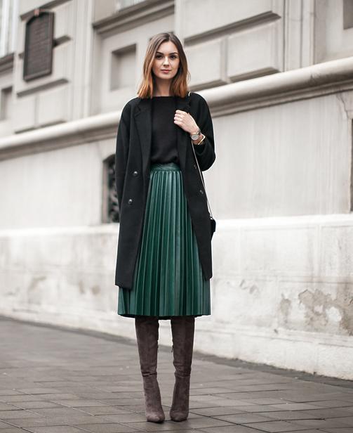 fashion leather skirts