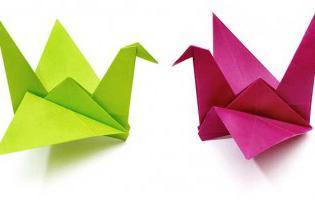 Знакомство с оригами. дом