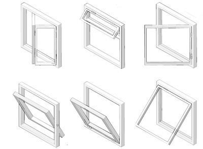 пластиковые окна типы