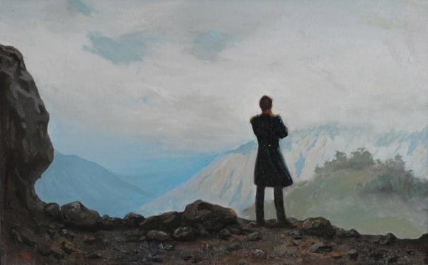 С чем связано одиночество лермонтова