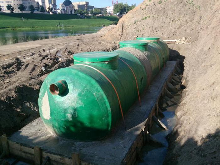 Локальные очистные сооружения ливневой канализации