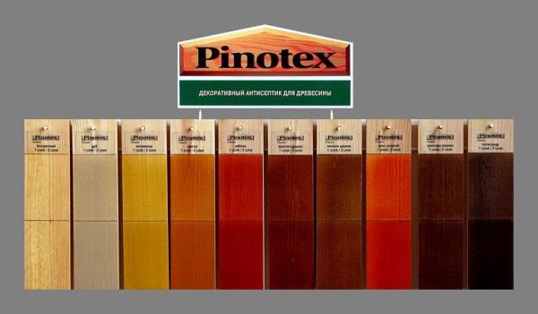 Пинотекс краска цвета