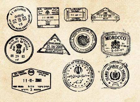Кисти печатей и штампов