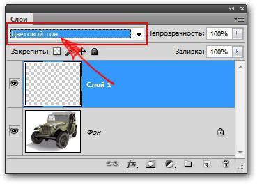 замена цвета в фотошопе cs6