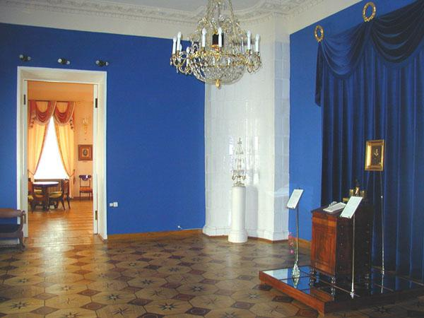 Санкт Петербург музей квартира Пушкина