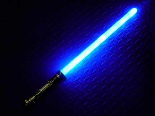 Как сделали лазерный меч