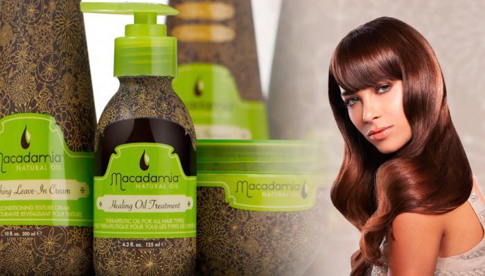 Масло для волос макадамия отзывы