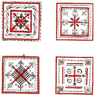Мезенские изделия: описание, виды, символика. Изделия мезенских мастеров