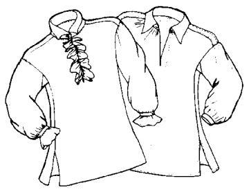 выкройку женской рубашки
