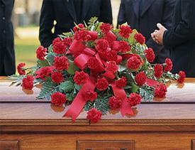 Какие цветы мужчине на похороны