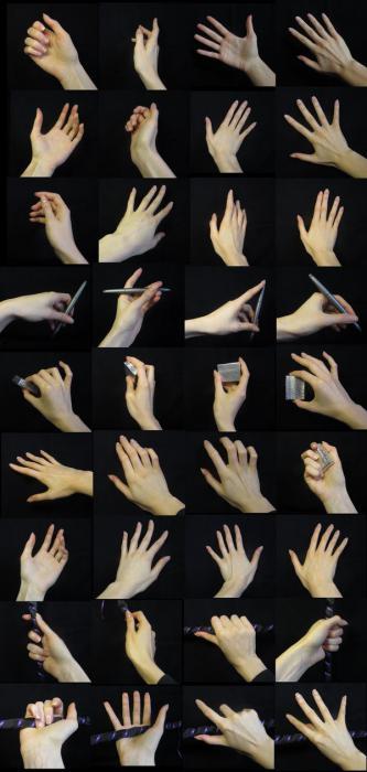 Фотографирование руки
