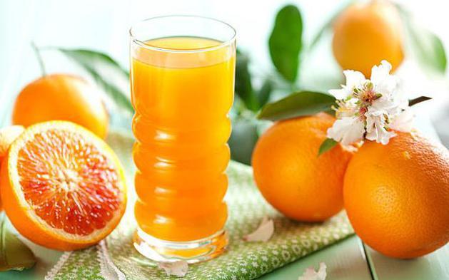 апельсиновый сок из 4 апельсинов