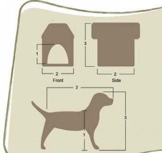 будка для немецкой овчарки размеры