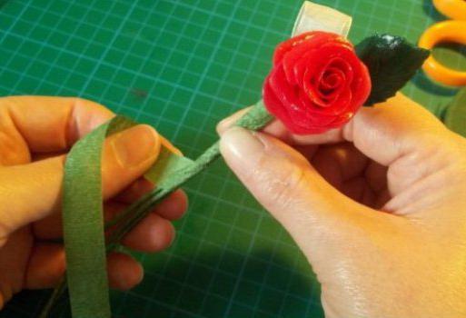 холодный фарфор лепка цветов